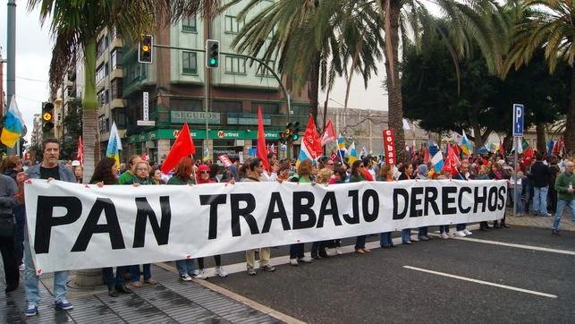 Reunión Grupo Px después de la Marcha por la Dignidad del 22 M