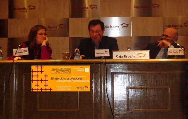 Foro de Etica Profesional en Palencia