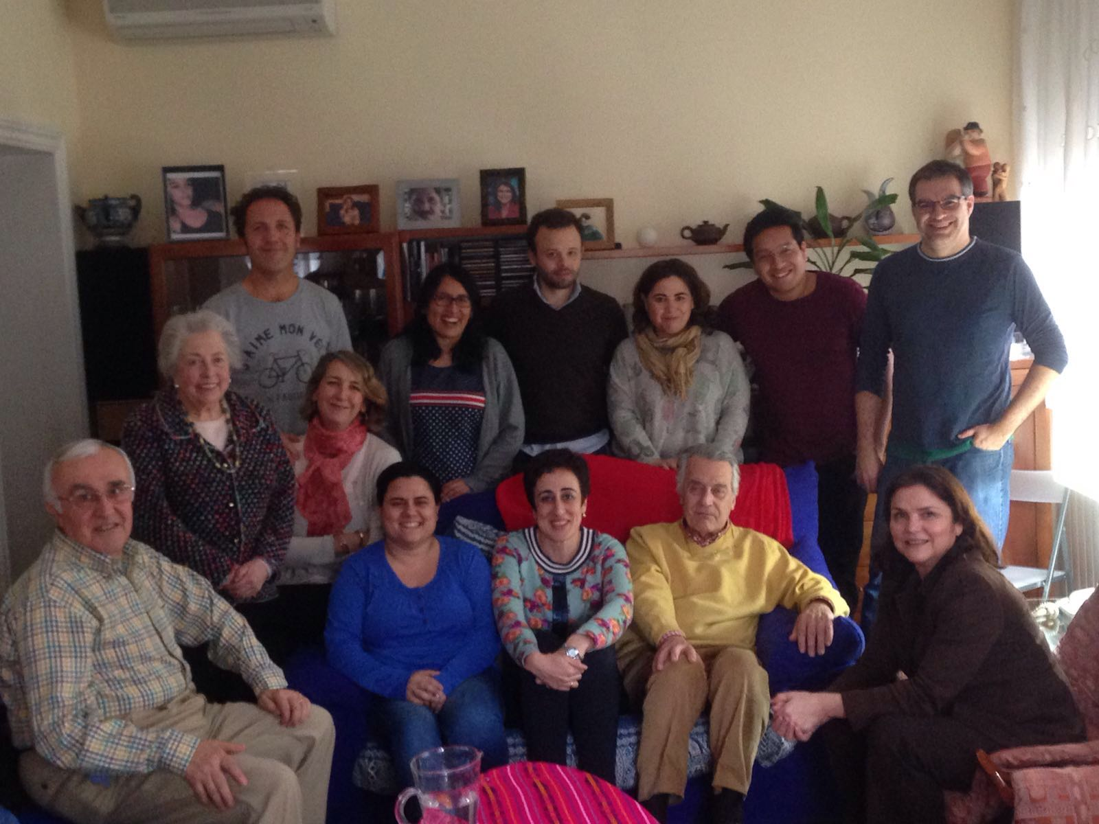 El Equipo Permanente se reúne en Madrid con los grupos de la Diócesis