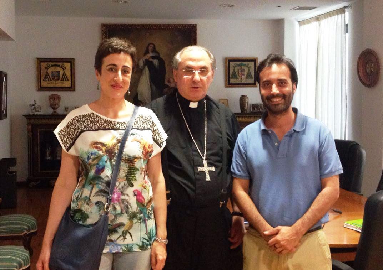 Encuentro con D. Celso, Arzobispo de Mérida-Badajoz