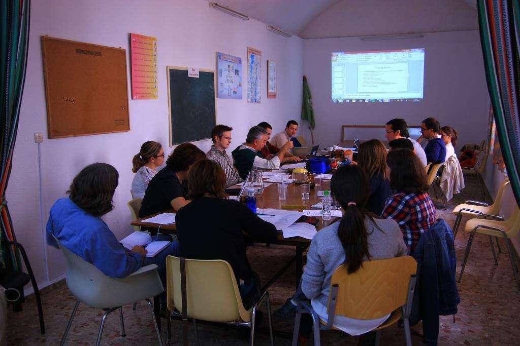 Profesionales Cristianos de la Archidiócesis de Mérida-Badajoz, se reunieron en la Parroquia Nuestra Señora de la Asunción, de Badajoz.