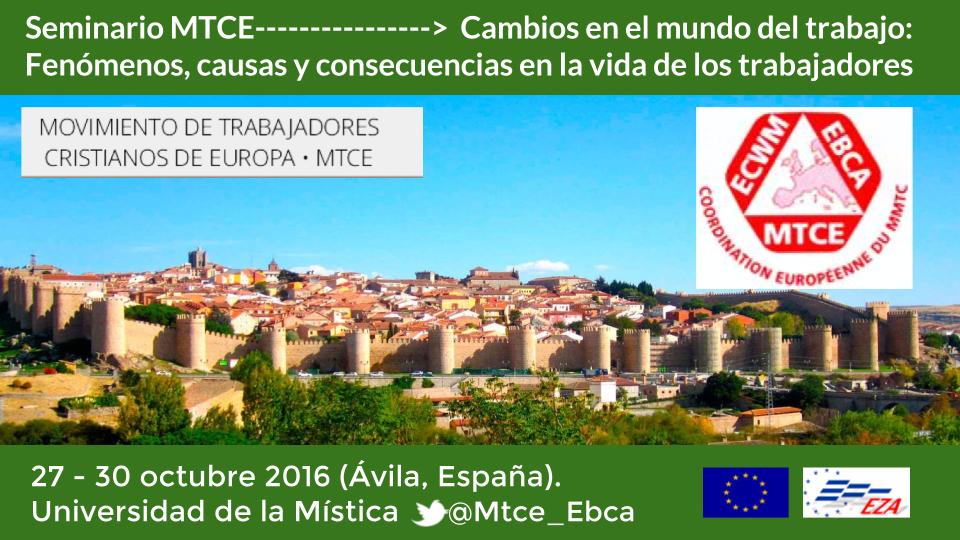El Movimiento de Trabajadores Cristianos de Europa (MTCE), en Ávila