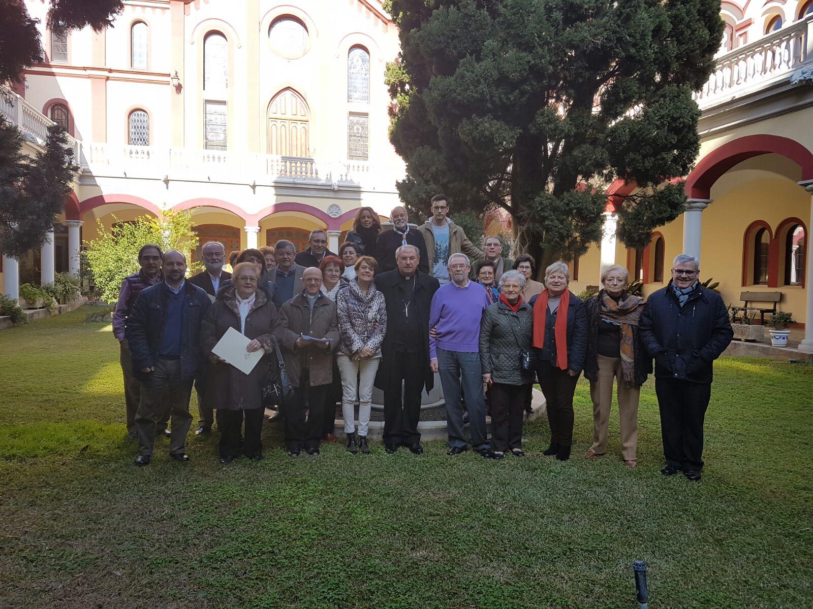 Reunión del Apostolado Seglar en Badajoz