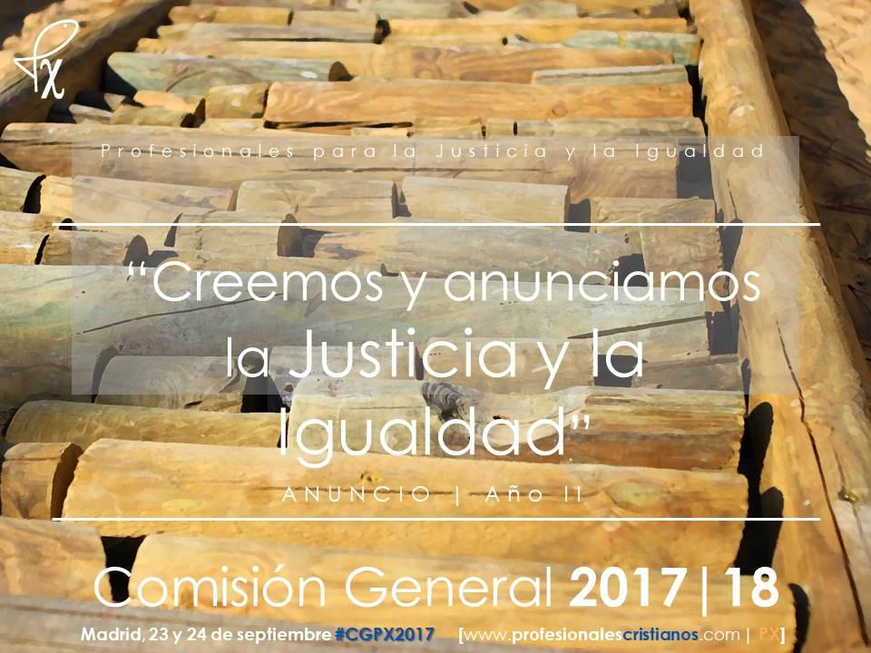 Comisión General de Profesionales Cristianos 2017
