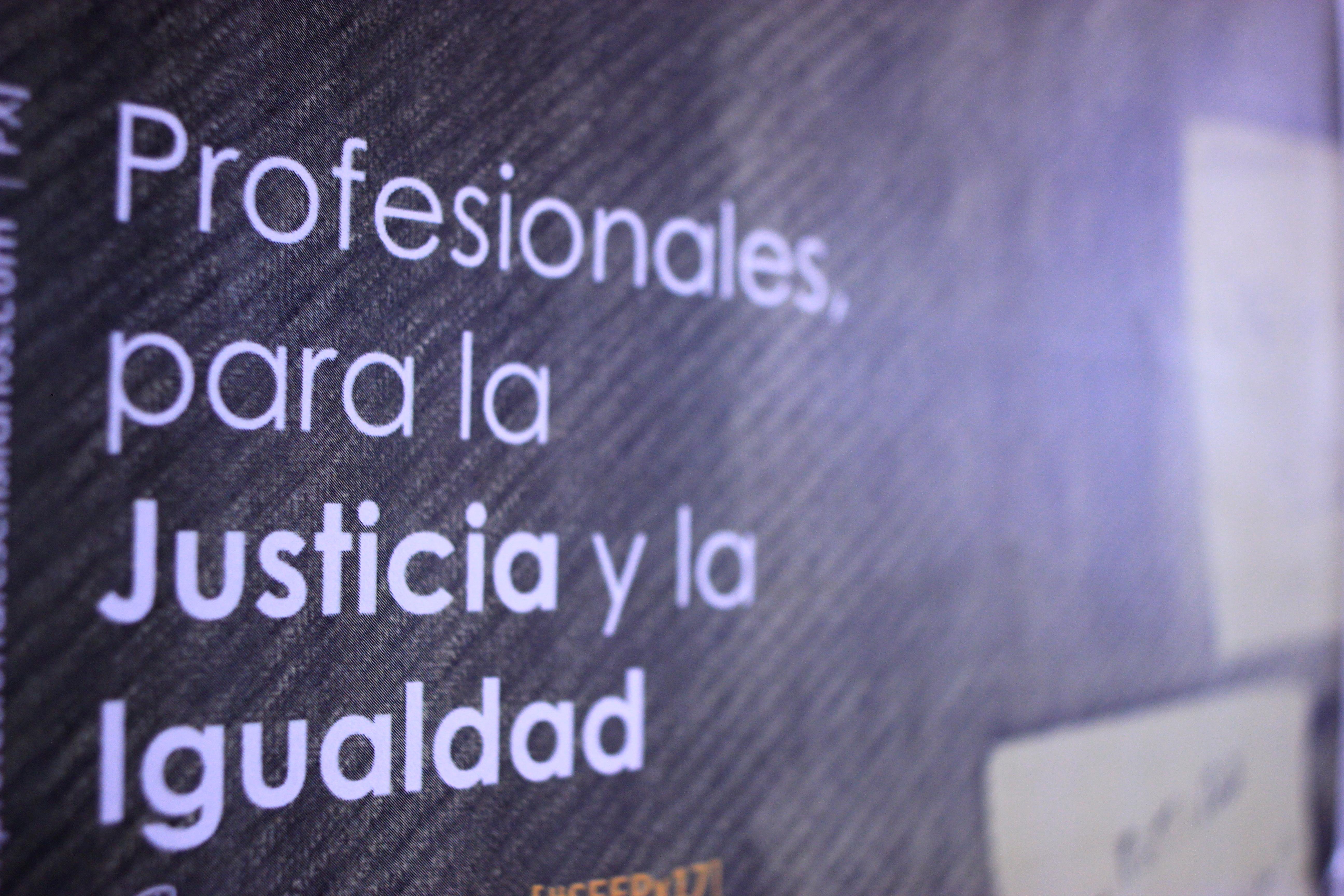 Profesionales para la Justicia y la Igualdad – Manifiesto de PX