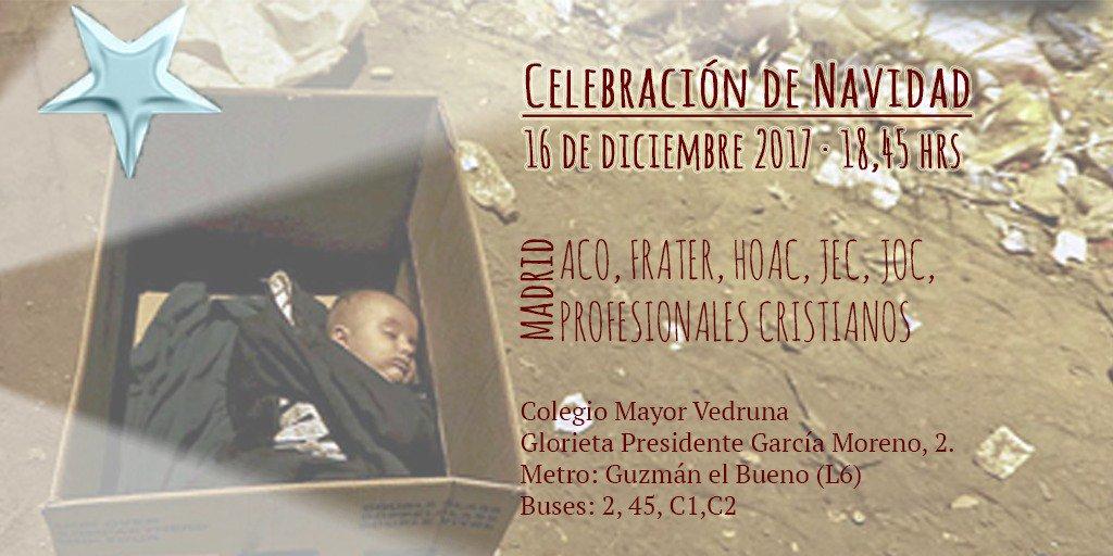 Movimientos de ACE celebran la Navidad en Madrid